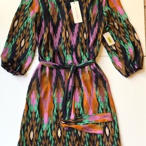 NWT Collective concepts XS dress boho style fall